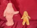 Κούκλες πήλινες-Πλαγγόνες